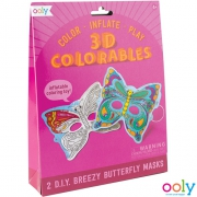 3D Colorables Vlinder Maskers