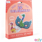 3D Colorables Vogel Maskers