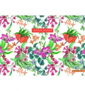 Deltas Weekplanner Tropical Flowers