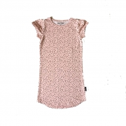 Shout It Out Straight Dress Pink Dots ALLEEN NOG MAAT 146/152