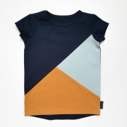 SI Shirt Blue Colourblock