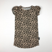 SI Simple Dress Leopard Love