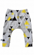 SK Baggy Broekje Yellow & Grey Triangle