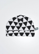 SK Babymutsje Black And White Triangle