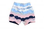 SK Short Waves Pink & Blue