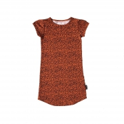 Shout It Out Straight Dress Leopard ALLEEN NOG MAAT 86/92
