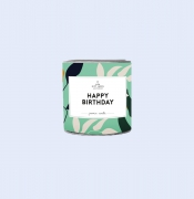 The Gift Label Geurkaars Happy Birthday