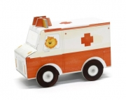 Vouwauto Ambulance