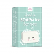 Blok Zeep Just A Soaprise For You Mintgroen
