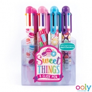 Zes Kleuren Pen Sweet Things