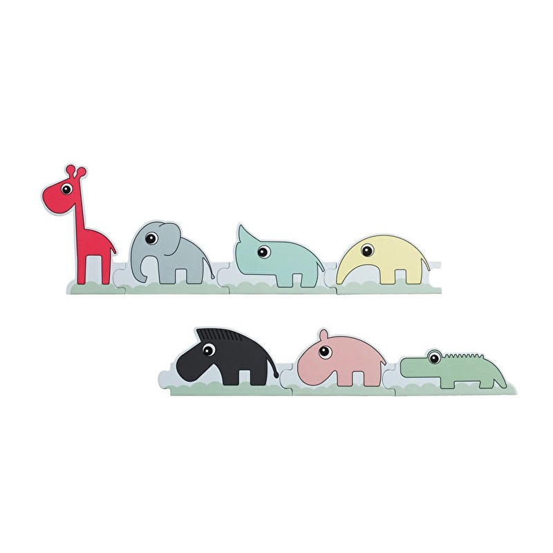 twee ons geluk done by deer puzzel parade vrolijke stevige puzzel cadeau jongen meisje. Black Bedroom Furniture Sets. Home Design Ideas