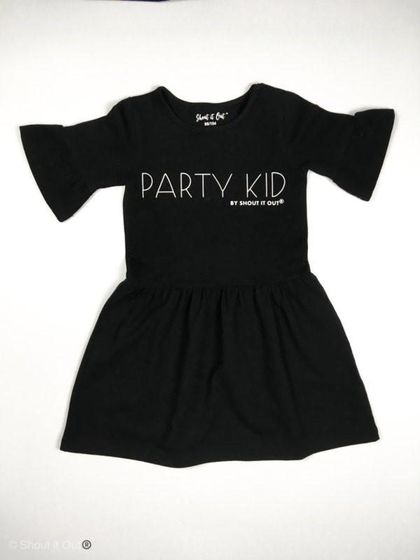 149dcd315a9de2 Twee Ons Geluk - Shout It Out Jurk Party Kid - Baby- kinderkleding